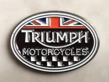 TRIUMPH - LAPEL PIN BADGE - BRITISH MOTORCYCLE BIKE BIKER RACING  (DB- 54)