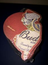 N.J. BUDWEISER Collectible State Drink Coasters New Jersey (50) Sealed In Pkg.