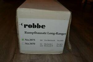 Scarce HUGE ROBBE Unstarted Bell Long Ranger Fuselage Kit 3873 - New Old Stock