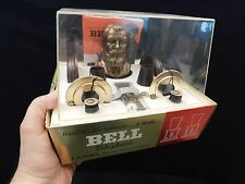 VINTAGE LIONEL ALEXANDER BELL TELEPHONE MUSEUM DISPLAY OLD ANTIQUE IN BOX  XTRAS
