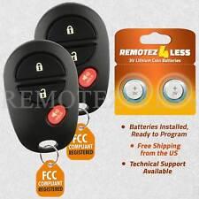 2 For 2007 2008 2009 2010 Toyota Tundra  Keyless Entry Remote Car Key Fob