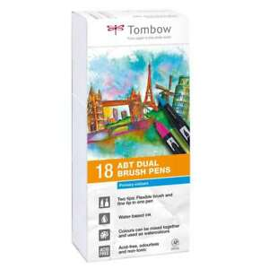 Tombow Dual Brushpens Wallet 18 Primary