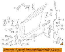 FORD OEM Front Door-Latch Screw W705830S901