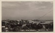 Carte Photo Vue à vol d'oiseau MATANE Bas-St-Laurent Quebec Canada 1946-48 RPPC