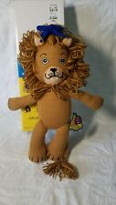 Classic Wizard Of Oz Polly Dolly Cowardly Lion Knitted Yarn Plush Doll. Limited!