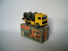 Matchbox Superfast Nr. 26e Volvo Cable Truck gelb  mit OVP mint/boxed