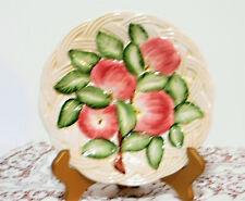 Vintage San Marco Nove Authentic Italian Majolica Apple Basket Plate/Collectible