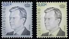 Luxemburg postfris 2003 MNH 1618-1619 - Groothertog Henri