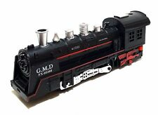Zug Eisenbahn Schnellzug Set Modern Train Lok Lokomotive Waggons Schienen Licht
