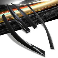 Side Window Rain/Wind Deflector Shade Vent Visors For Honda 01-05 Civic 4Door
