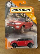 2020 Matchbox Red 2014 Range Rover Evoque