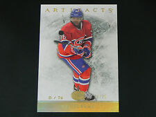2012-13 Artifacts GOLD Spectrum #69 P.K. Subban Montreal Canadiens / 25