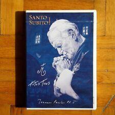 DVD Santo Subito Giovanni Paolo II Karol Wojtyla papa biografia nuovo sigillato