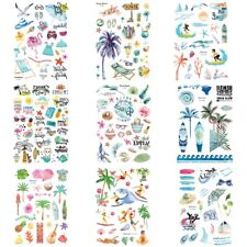 Hawaiian-Style Body Tattoo Waterproof Sticker Cartoon Party Temporary Children