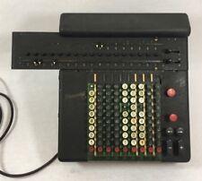 Ancienne machine à calculer calculator Rheinmetall 1950 Fonctionne