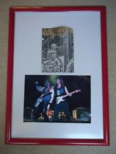 More details for iron maiden fan club magazine no 18 + iron maiden photo rare gig image two gems