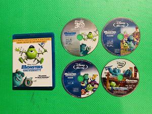 Disney's MONSTER UNIVERSITY Ultimate Edition (BLU-RAY 3D+ BLU-RAY+DVD)