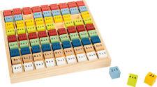 """Jeu éducatif Table de multiplication multicolore """"Education"""""""