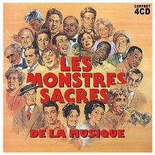 CD Les monstres sacrés de la musique - Coffret 4 CD