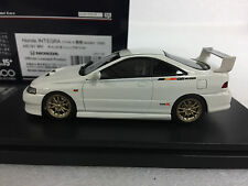 1:43 HI STORY HS181WH HONDA INTEGRA TYPE-R MUGEN DC2 scale model car ACURA RSX