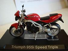 Triumph SPEED TRIPLE  955 i  2002  ROT  1:24 Altaya Top-Modell