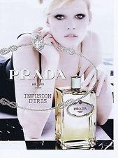 """PUBLICITE ADVERTISING 064 2010 PRADA """"Infusion d'Iris"""" parfumerie"""