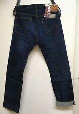Levis Vintage LVC 1947 501xx Big E Selvedge Slim Raw Denim Jeans Mens 38/34 NWT