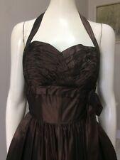 Original Vintage 50s Cocktail Dress , Halter , Full Skirt Dress,Pinup Rockabilly