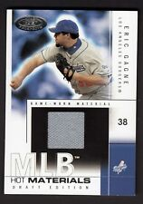 Eric Gagne 2004 Fleer Hot Properties MLB Hot Materials Game Worn Jersey Card