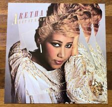 Aretha Franklin Get it Right RARE original promo 12 x 12 poster flat 1983