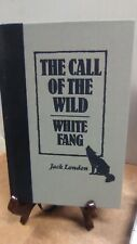 The Call of the Wild and White Fang by Jack London(Fc9-1-b)