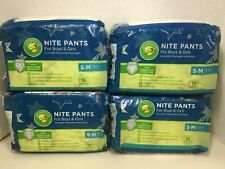 Comforts Nite Pants S-M, Unisex Overnight Disposable Training Pants, 60 Pants