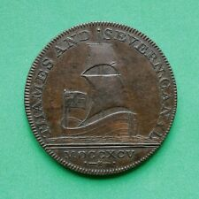 1795 Half-Penny Token Thames & Severn Canal Gloucestershire SNo51005