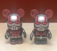 Lot of 2 Vinylmation Ant Man Figures Variants Le 2250 3� Tall