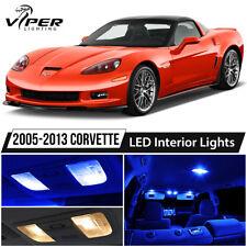 2005 2013 Chevrolet Corvette C6 Blue Led Interior Lights Package Kit