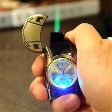 Multifunctional Cigarette Lighter Refillable Butane Men Sports Gold Car Gift New