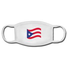 Puerto Rico Flag Cotton washable reusable Face Mask