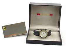 Ferrari - Formula OEM Men's Watch - Leather Band Complete with Case & Books