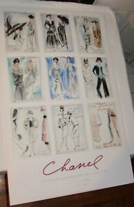 Chanel x Karl Lagerfeld The Met Exhibition Poster board Print, 2005 (24X38)