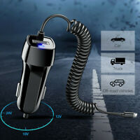 USB Car Charger For iPhone 11 Pro Max/XS/XR/6/7/8 Fast Charging Cable