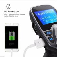 Wireless Bluetooth Car Kit MP3 Player FM Transmitter Radio Adapter USB Charger