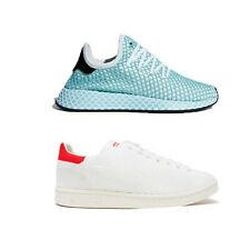 Adidas Trainers Sneakers Stan Smith Mens White Deerupt Womens Blue Running Shoes