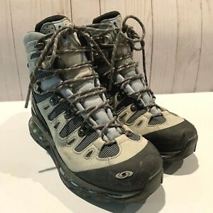 Salomon Womens Gore-Tex Hiking Boots US 6 EU 37 1/3 EUC