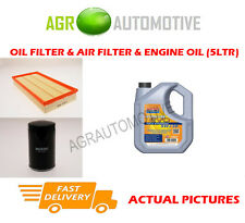 PETROL OIL AIR FILTER + LL 5W30 FOR VOLKSWAGEN NEW BEETLE 1.6 102 BHP 2000-10