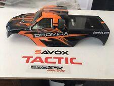 Dromida 1/18 Monster Truck Body MT4.18  V2 USA 🇺🇸👍 RC Brushless Lipo