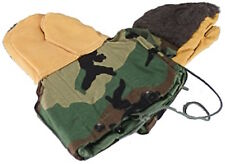 Genuine Military Issue Extreme Cold Weather Mitten Set Woodland Camo