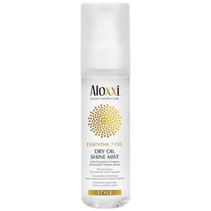 Aloxxi ESSENTIAL 7 DRY OIL Shine Mist 100ml / 3.3oz Hair Care