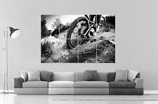 BMX B&W Poster Grand format A0 Large Print