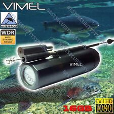 Underwater Camera Waterproof Fishing 16GB Video Recorder HD 1080 Line Finder