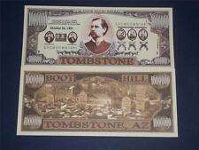 A $1,000,000 CRISP UNCIRCULATED U.S TOMBSTONE  BANKNOTE!